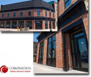 Goderich Ontario, Coronation Dental Specialty Group, Building View